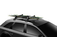 thule snowpack 6 pair skis rack