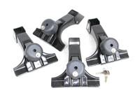 Thule 300 Gutter Low Foot Pack with Locks - Bulk