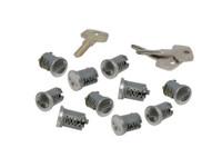 Yakima SKS Lock Cores, 10 Pack