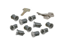 yakima sks lock cores with keys set of 10