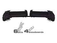 inno rh722 dual angle dedicated ski carrier
