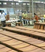 Teak furniture factory