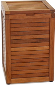 The Original Nila™ Medium Size Teak Laundry or Storage Hamper