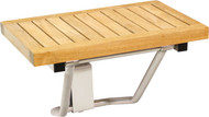 "20"" Spa™ Mantis Wall-Mounting Teak Shower Bench"