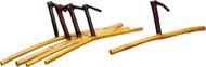 Moa™ Set of Five Teak Wood Hangers