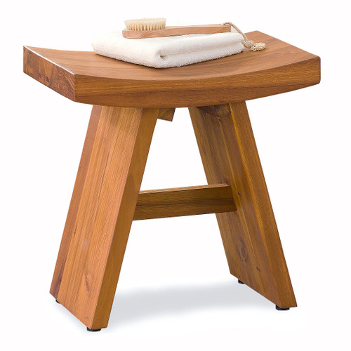 Floor Sample Classic Asia® Teak Shower Bench - Aqua Teak