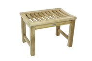 "24"" Aqua Stratus Teak Indoor & Outdoor Bench"