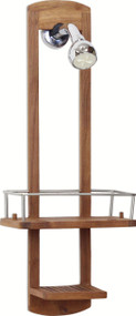 The Original Moa™ Small Teak Shower Caddy