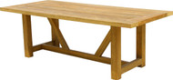 "Aqua Vineyard 118"" x 39"" Dining Table"