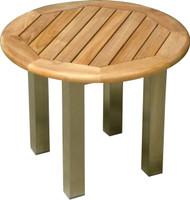 "Aqua Blend 22"" Round Side Table"