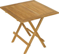 Aqua Mantis Square Folding Picnic Table