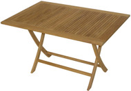 Aqua Mantis Rectangular Folding Table