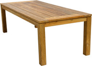 "Aqua Chateau 94.5"" Recycled Garden Table"