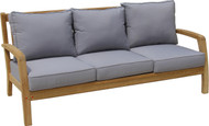 Aqua Zen Three-Seat Sofa