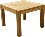 "Aqua Chateau 39"" Recycled Garden Table"