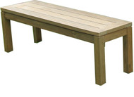 "Aqua Chateau 59"" Reclaimed Backless Bench"