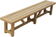 "Aqua Vineyard 118"" Backless Bench"