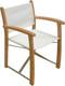 teak furniture Aqua Sol Director Chair (1712)