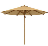 "teak patio furniture -  Aqua Shade 118.10"" Round Parasol (2901)"