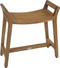 Asia Ascend Teak Shower Bench with Elevated Height (129)