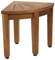 "12"" Kai™ Corner OptiAREA™ Teak Foot Stool"