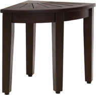 "15.5"" Wide Kai™ Mocha Corner Teak Side Table"