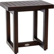 "18"" Wide Spa™ Mocha Teak Side Table"
