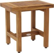 """18"""" Spa™ Lotus Teak Side Table"""