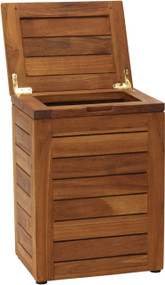 Spa™ Waste Basket with Lid