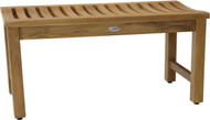 "36"" Aqua Stratus Elite Teak Indoor & Outdoor Bench"