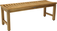"47"" Aqua Stratus Elite Teak Indoor & Outdoor Bench"