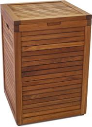 The Original Nila™ Large Size Teak Laundry or Storage Hamper
