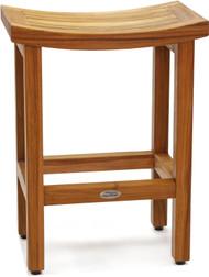 "Patented 24"" Tall Sumba™ Teak Counter Stool"