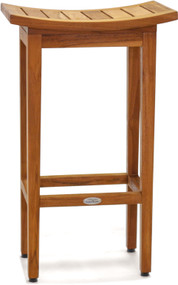 "The Original 30"" Tall Maluku™ Teak Bar Stool"