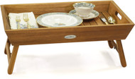 Manada™ Teak Bed Tray with Fold Out Legs