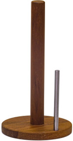 Manada™ Teak & Stainless Steel Paper Towel Holder