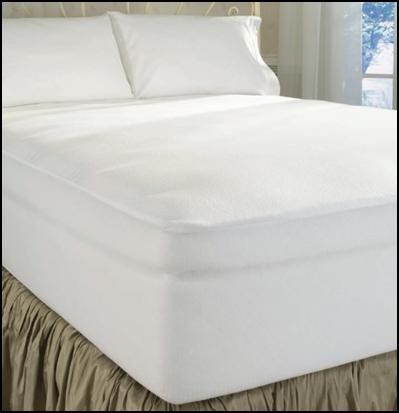 100% Cotton Terry Cloth Mattress Protector by DreamFit - Dream Mattress Organics