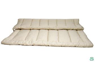 100% Organic merino wool topper.