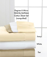 Degree 6 Micro TENCEL/SUPIMA Cotton Sheet Set (nonquilted)