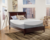 "8"" Gel STAY COOL Mattress with foundation"