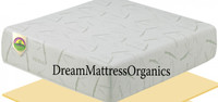 "13"" Planet Sleep Memory Foam Mattress"