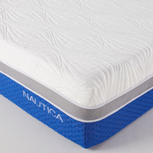 """cool+calm+comfortable 10"""" mattress. Medium Firm.  CertiPur-US Certified Foams Ensures our foams meet rigorous standards for emissions, content, performance, and durability"""