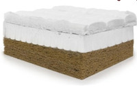 Organic Coconut and Latex Crib Mattress by Palmpring