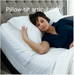 Pillow-tilt articulation Optimize your comfort with pillow tilt, which adjusts to support your head while you read, work, or watch TV in bed.