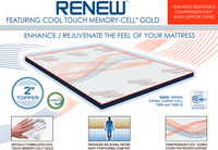 """Renew Cool Touch 2"""" Topper"""