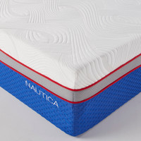 "cool+serenity+comfortable 12"" mattress. Medium Flush."