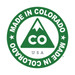 Made in the USA. Made in Colorado!