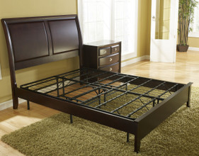 Foundation (Platform Bed not included).