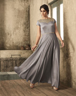 Grey Color Dress (D1026)
