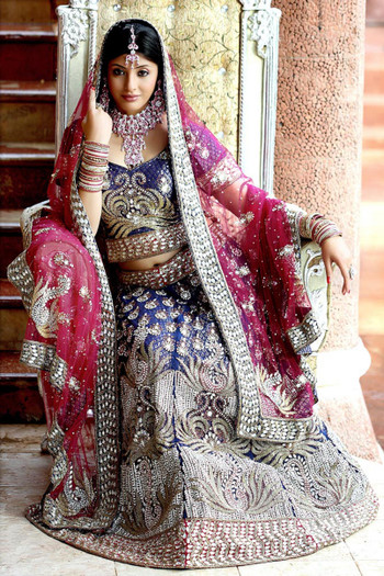 Luxurious Work Bridal Lehenga (L0024)